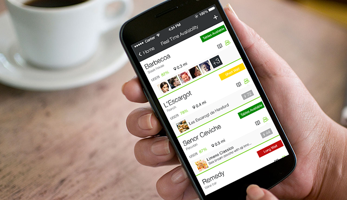Just walk in! Restaurants now offering Real Time Table Availability on eet app.