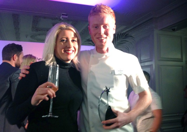 The Mayfairy with S.Pellegrino Young Chef 2015 Mark Moriarty