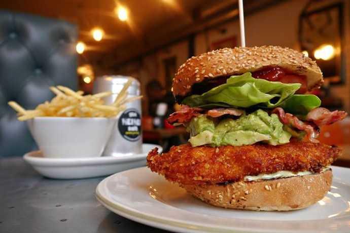Blue Cheese Gourmet Burger Kitchen