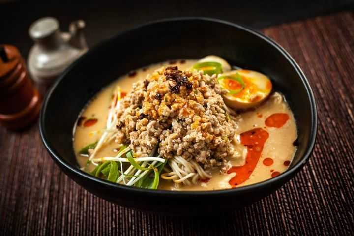 AGE TOFU MISO RAMEN (V) - Age (Fried) Tofu, Soy Egg, Menma Bamboo ...